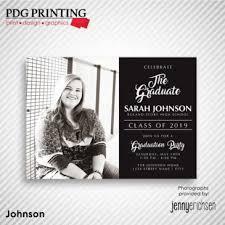 Print Graduation Announcement Graduation Announcements Pdg Printing