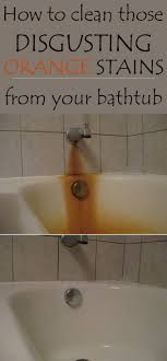 bathtub stain removal from rust stains disgusting with environmentally friendly vinegar