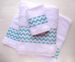DIY Bathroom and Chevon Towel — Crafthubs