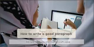 How To Write A Good Paragraph Topics In English