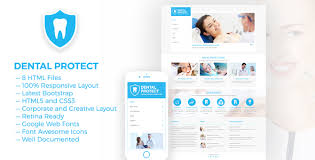 Dental Protect Responsive Dental And Health Html5 Template By