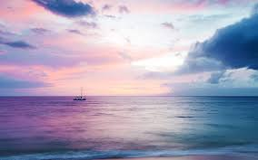 Pink Clouds The Ocean - 3840x2400 ...