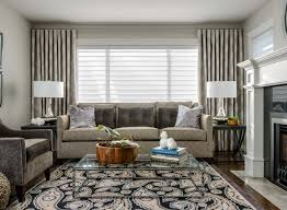 Fancy Apartment Curtain Ideas With Living Room Curtains Design