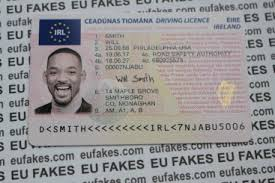 Driving Identity Eu Fakes Fake License - Cards
