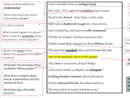 macbeth revision characters and themes key quotations bank by power and conflict ozymandias poetry analysis