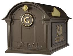 Decorative Mail Boxes Mailbox without Post Decorative Curbside Mailboxes Only 5