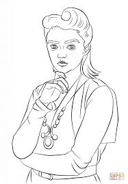 Small Picture Ashildr from Doctor Who coloring page Free Printable Coloring Pages