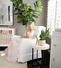 The Posh Home Bright White and Pink Baby Girl Nursery Reveal ...