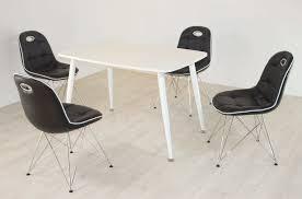 Tischgruppe Im Stil Der Fünfziger Jahre Esstisch Eckig Weißweiß