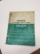 minichamps celica 1986 toyota celica oem factory repair manual and electrical wiring diagram book