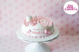 One Month Princess Theme Baby Girl Birthday Cake Whiskit
