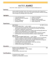 For Teachers Pinterest Resume Examples Business Planning And