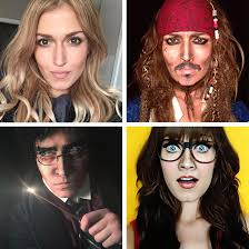 makeup artist pletely transforms herself into 100 diffe famous faces