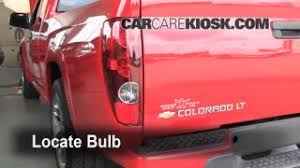 replace a fuse 2004 2012 chevrolet colorado 2007 chevrolet tail light change 2004 2012 chevrolet colorado