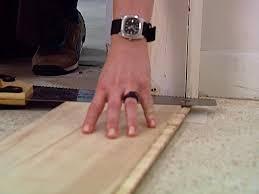t door jambs to install laminate flooring