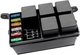 12v car fuse box relay holder spade Automotive Accessory Fuse Box Marine Fuse Box