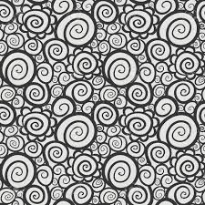 Curly Patterns And Designs Seamless Abstract Curly Wave Pattern Model For Design Of Gift