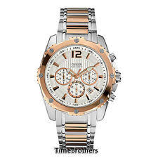 guess rose gold watch new guess watch for men chronograph rose gold top ring date u0165g2