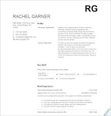 Examples Of Resumes With Little Work Experience High School Student