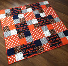 533 best chicago B a b y & Kids bears images on Pinterest | Navy ... & Chicago bears quilt. Baby toddler lap quilt Adamdwight.com
