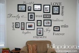 family photo wall design ideas family wall decor gorgeous family wall decal set of family words family room wall review interior decorating jobs in lagos