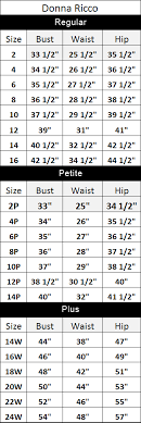 76 Most Popular Eliza J Sizing Chart