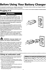 Diehard 20071222 User Manual Battery Charger Manuals And