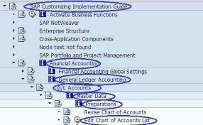 Create Chart Of Accounts In Sap How To Create New Chart Of Accounts In Sap Chart Of