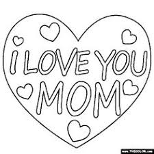 Small Picture Download I Love Mom Coloring Page bestcameronhighlandsapartmentcom