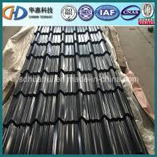 black corrugated roofing sheel sheet made in china