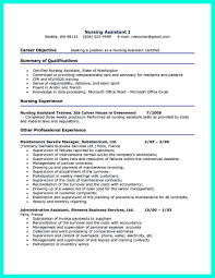 Cool Great And Convincing Said Cna Resume Sample Template No