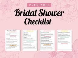 Bridal Shower Planner Printable Serpto Carpentersdaughter Co