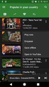 Ymusic Download And Listen Youtube Video In Background Android