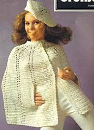 Free Vintage Crochet Cape Pattern