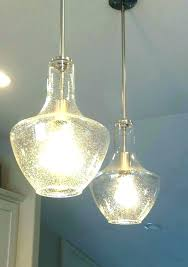 seeded glass pendant shade replacement medium size of seemly light fixtures lamp clear