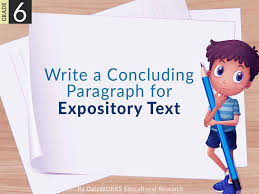 What Is Expository Text Write A Concluding Paragraph For Expository Text Lesson Plans