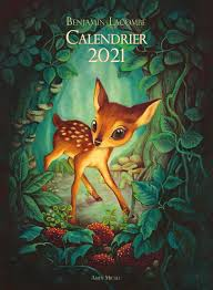 Calendrier 2021 : Lacombe, Benjamin: Amazon.de: Bücher