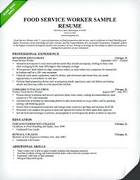 Server Resume Objective Sample Of Waitress Resume Food Service Server Resume Professional 51