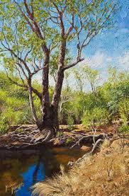 helena river original oil painting