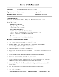 Resume Qualifications General Therpgmovie