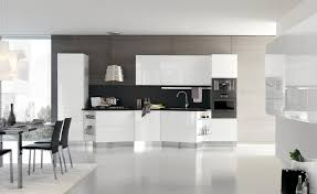 modern white kitchen. Excellent Modern Kitchens With White Cabinets For Your Home Modern White Kitchen