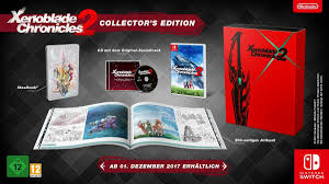 Amazon Uk Pre Order Chart Xenoblade Chronicles 2 Collectors Edition Up For Pre Order