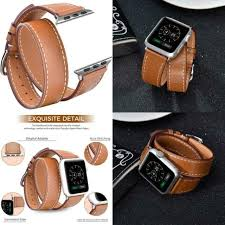 v moro leather bands compatible with apple watch band 38mm 40mm large