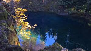 tamolitch blue pool. Tamolitch Blue Pool McKenzie River Oregon Cascade Mountain Range - HD Stock Video Clip