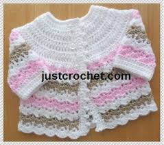 Crochet Baby Sweater Pattern Classy Pretty Baby Sweater Crochet Pattern AllCrafts Free Crafts Update