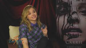 Chloe Grace Moretz - Carrie Double ...