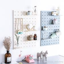 plastic peg board wall mounted storage rack living room kitchen bedroom bathroom storage shelf organizer for sundries wall mounted storage rack storage