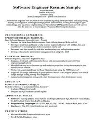 Software Engineer Resume Samples Delectable Software Engineer Resume Sample Download It Samples For Jobs Pdf