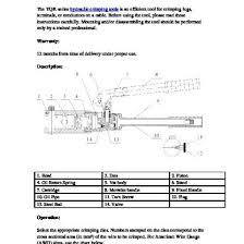 Yqk 70 Die Chart Yqk Series Hydraulic Crimping Tool 6klzdx78evng