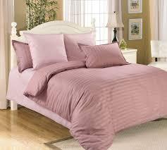 ЧАЙНАЯ РОЗА (полоска) пастельно-розовый (однотонный сатин ...